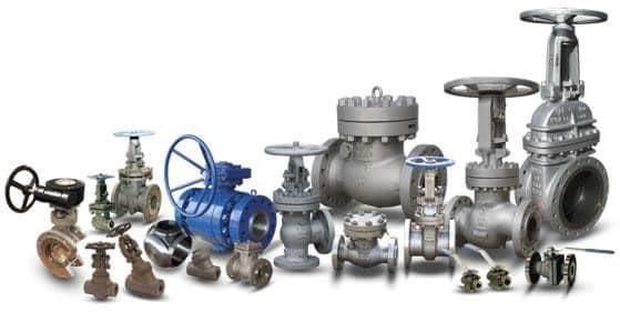 مجموعه ای از شیر آلات صنعتی          پایا صنعت تجارت رادوین